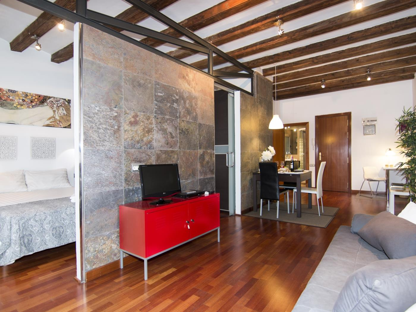 Apartment with an incredible location in the centre of Barcelona for 4 - My Space Barcelona Appartamenti